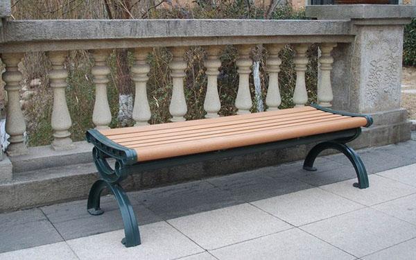 Băng ghế công viên composite