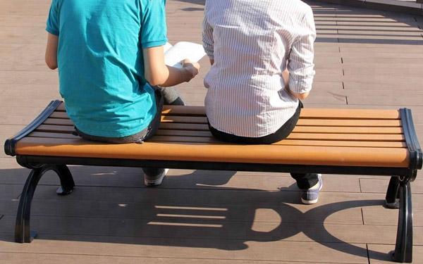 Băng ghế công viên gỗ
