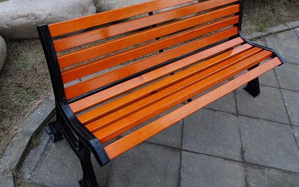 Ghế công viên ngoài trời có thể đặt nhiều nơi khác nhau