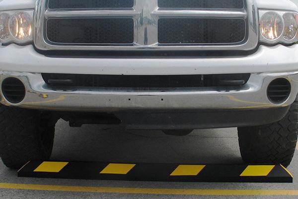 Ứng dụng của gờ chặn bánh xe
