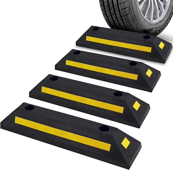 Một số kích thước gờ chặn bánh xe ô tô