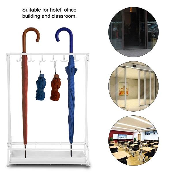 Kệ cắm ô mang đến sự sang trọng và chuyên nghiệp cho khách sạn