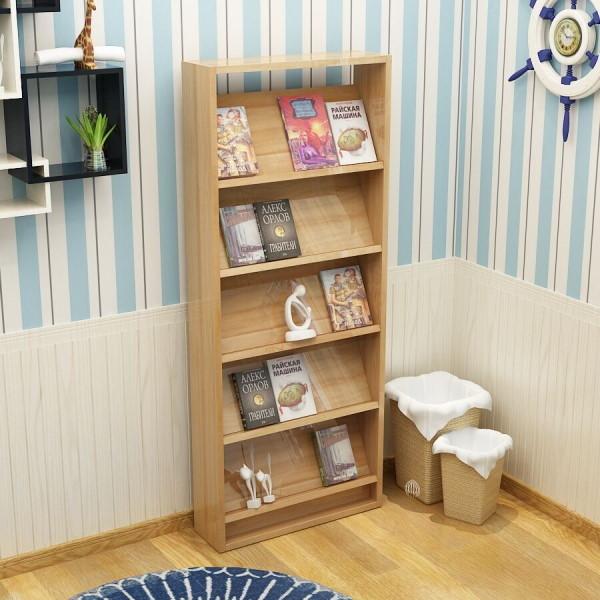 Đặt kệ đựng sách báo tạp chí sát tường sẽ tăng tính thẩm mỹ cho không gian