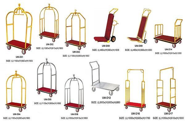 Xe đẩy hành lý chính hãng sẽ có trọng lượng nặng hơn so với hàng nhái.
