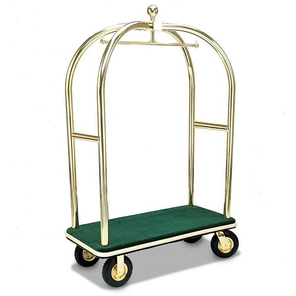Nhận biết xe chở hành lý dựa vào trục, ổ bi và bánh xe