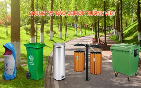 Bảo vệ cảnh quan đô thị với thùng rác công cộng