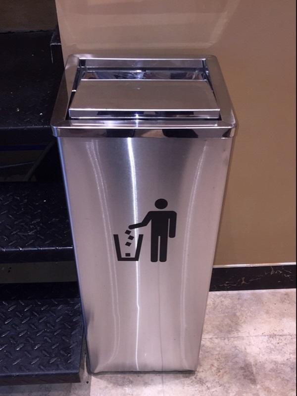 Thùng rác thích hợp đặt trong nhiều không gian khác nhau