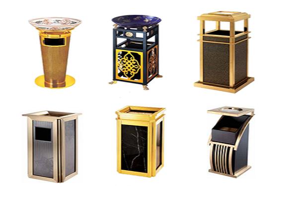 Có đa dạng chất liệu, kiểu dáng thùng rác đẹp