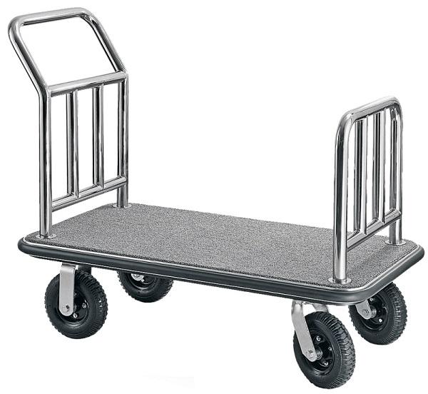 Xe đẩy hành lý inox mang rất nhiều ưu điểm nổi bật