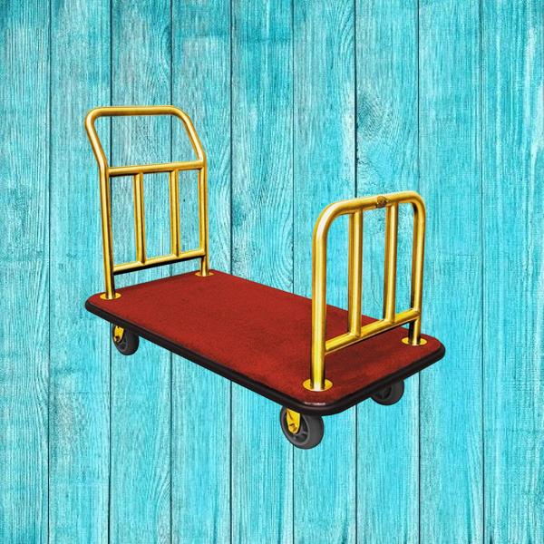 Xe đẩy hành lý chữ U dùng không đúng cách sẽ khiến cho hành lý bị rơi vỡ, móp méo.