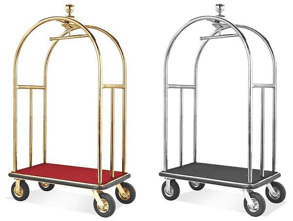 Xe đẩy hành lý gấp gọn giúp tiết kiệm công sức hiệu quả