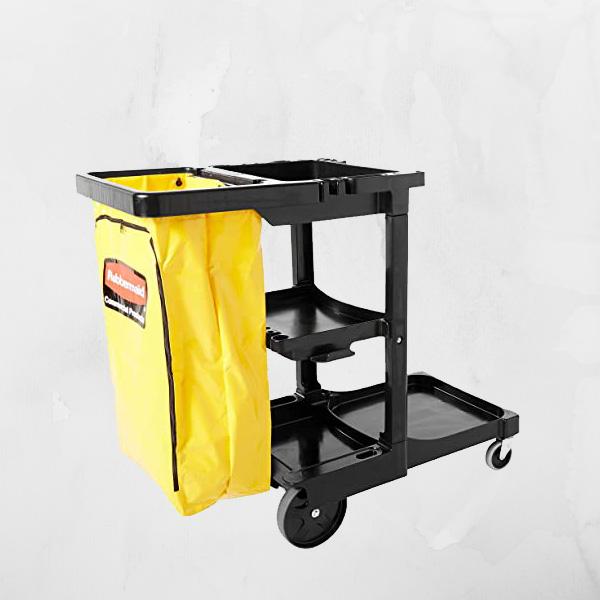Bán xe dọn vệ sinh công nghiệp 3 tầng giá rẻ