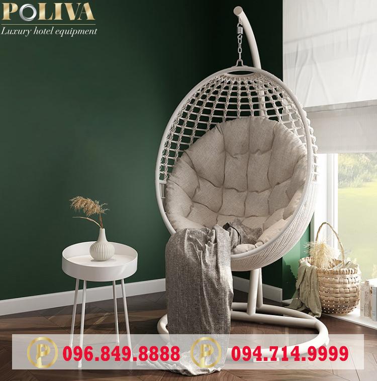 Lý do khách hàng hay chọn mua xích đu trứng tại Poliva