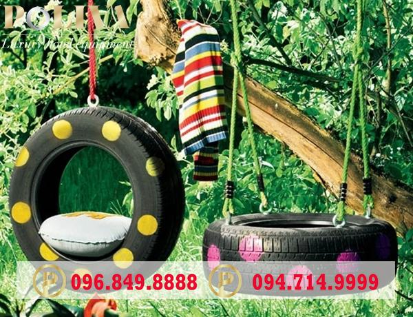 Đặc điểm của xích đu bằng lốp xe