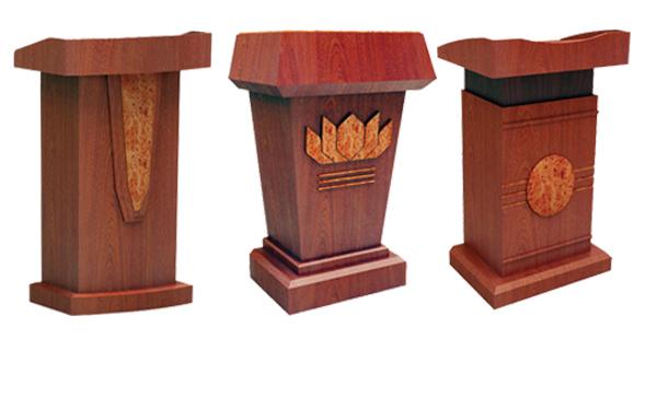 Một số mẫu bục để tượng Bác