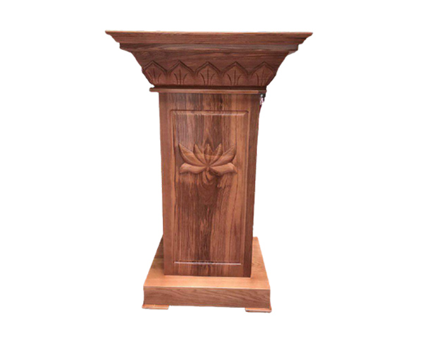 Bục phát biểu bằng gỗ tự nhiên