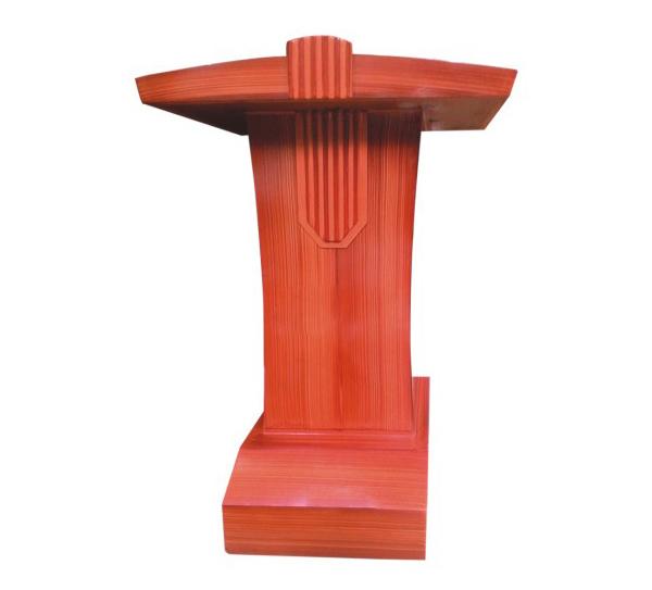 Bục phát biểu bằng gỗ công nghiệp