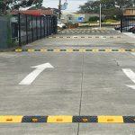 Gờ giảm tốc độ được lắp tại nhiều con đường
