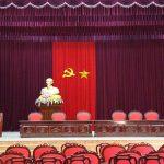 Bục để tượng bác được sử dụng tại các sân khấu, hội trường