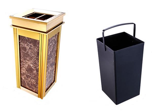 Cấu tạo thùng rác tinh tế và vô cùng tiện lợi