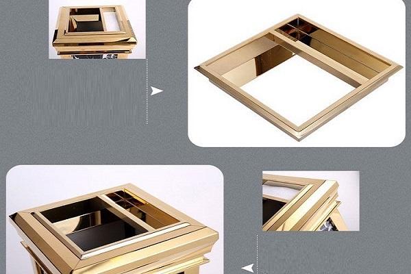 Hình ảnh chi tiết về cấu tạo phần nắp thùng