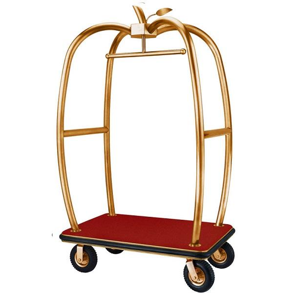 Bạn có thể nhận biết xe đẩy đồ chính hãng dựa vào sàn của xe.
