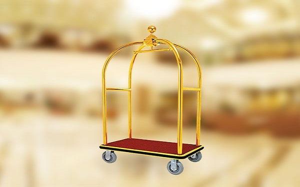 Xe chở hành lý mang đến sự chuyên nghiệp cho khách sạn