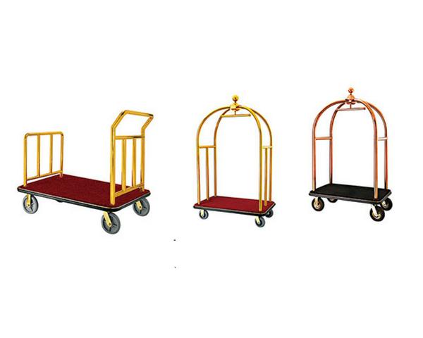 Xe đẩy hành lý thông minh khung inox mang nhiều ưu điểm nổi bật