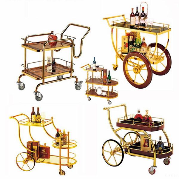 Những mẫu xe đẩy rượu trà phổ biến nhất