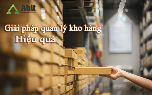 Giải pháp quản lý kho hàng
