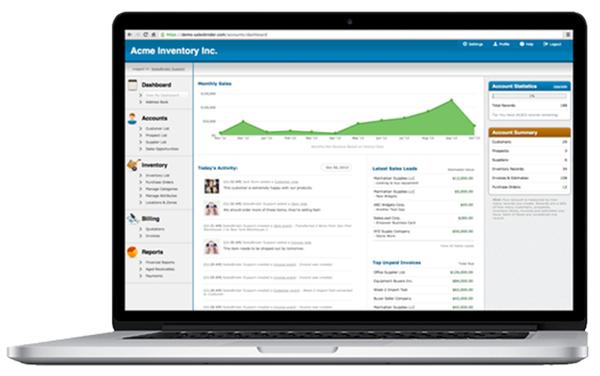 salesbinder - Phần mềm quản lý kho hàng
