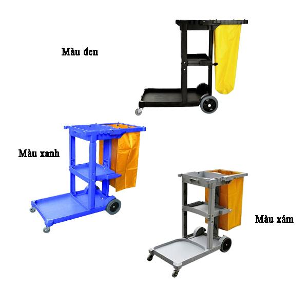 Các loại xe đẩy làm vệ sinh cao cấp