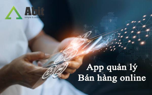 App quản lý bán hàng online