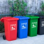 Đặc điểm của thùng rác có nắp đậy kín