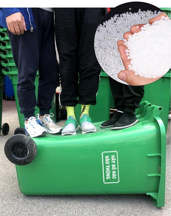 Đặc điểm của thùng rác công nghiệp 120 lít