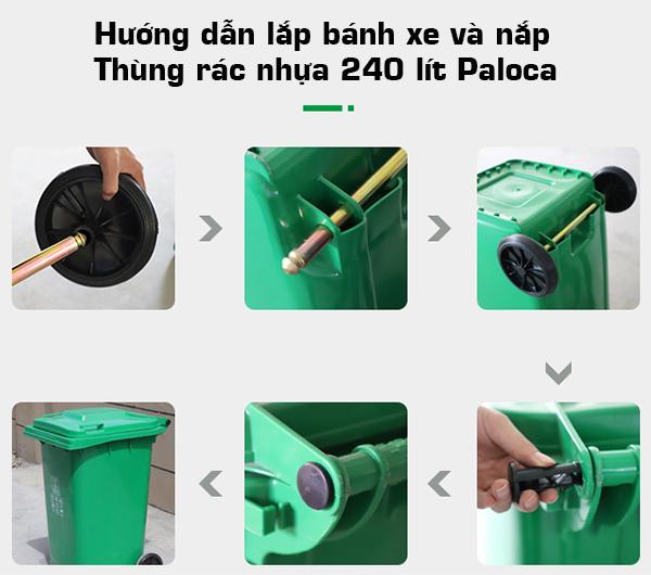 Địa chỉ bán nắp đậy thùng rác nhựa thay thế giá rẻ