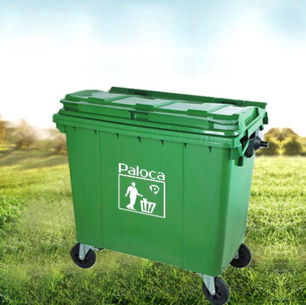Sự khác biệt của thùng rác nhựa 660 lít só với các sản phẩm khác