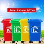 Trang bị thùng rác cho các vùng nông thôn mới