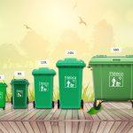 Tổng quan về mẫu thùng rác có bánh xe