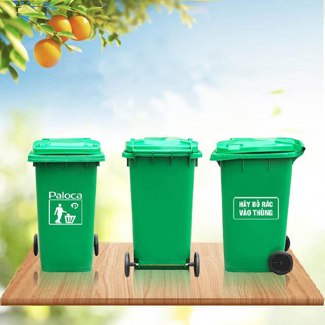 Đặc điểm của thùng rác nhựa 240 lít Paloca