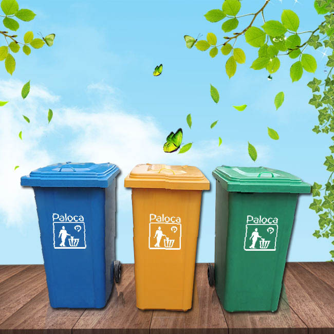 Thùng rác công nghiệp nên được sử dụng bằng chất liệu nào?