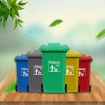 Lợi ích khi sử dụng thùng rác có bánh xe