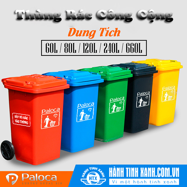 Sử dụng thùng rác công cộng có lợi ích gì?