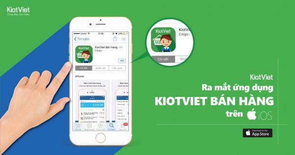 Ứng dụng quản lý bán hàng miễn phí Kiotviet
