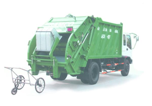 Đặc điểm của xe thu gom rác đẩy tay