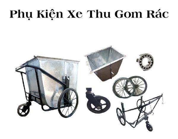 Đơn vị phân phối phụ kiện xe thu gom rác uy tín