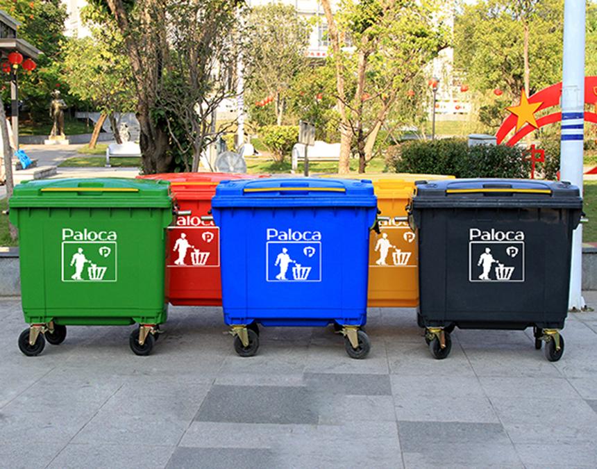 Những tiện ích của xe thu gom rác đẩy tay đem lại