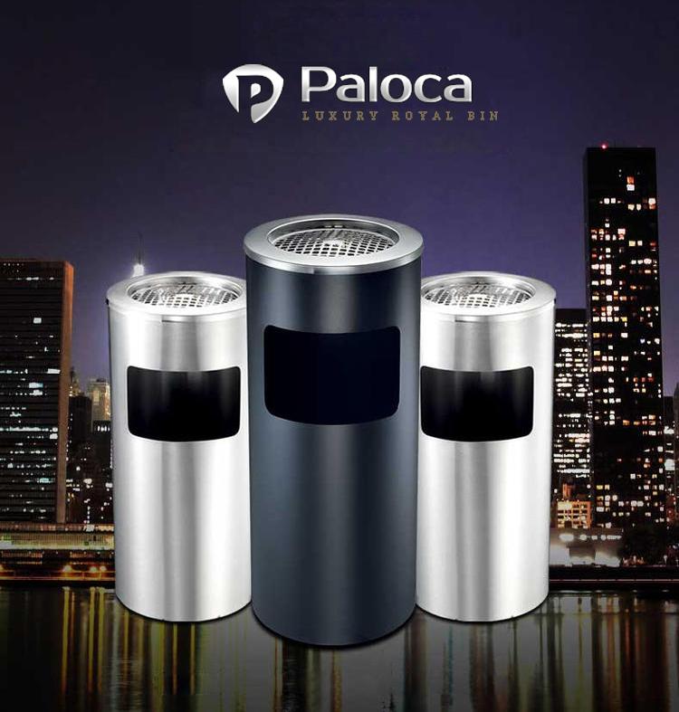 Đặc điểm của thùng rác inox Paloca