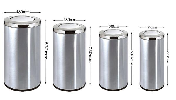 Thùng rác nắp lật là gì?