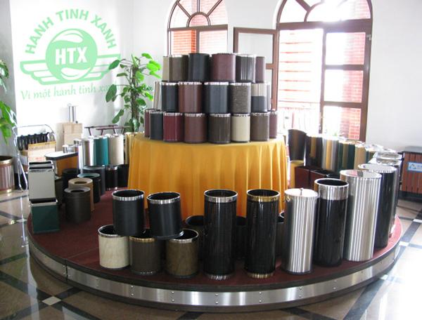 Vì sao nên mua thùng rác inox tại Hành Tinh Xanh?